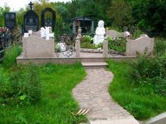 Комплексная установка и уход за могилой