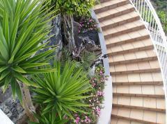 Tile ceramic for steps