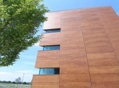 Interline interval wooden Prodema Facade