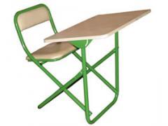 School desks for preschool children