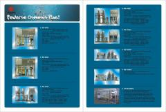 Systems of water purification, osmosis, softeners