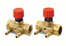Balancing DANFOSS ASV-I valve