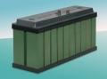 Alkaline nickel - cadmium hermetic batteries