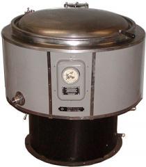 Repair of food kettles