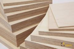 Plywood of the increased water resistance of the