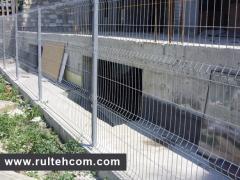 Оцинкованный забор. Еврозабор. Сварные панели. Eurogard. Gard zincat. Panou gard. Gard euro