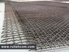 The grid is woven galvanized. Plasa zincata