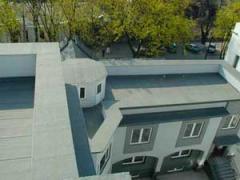 Кровля здания на ул. Еминеску, г. Кишинев