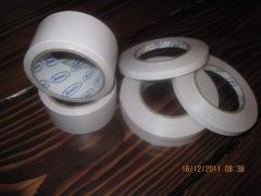 Adhesive tape bilateral polypropylene