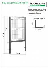 Gate of STANDART 812 BR (3.5/3R). Portita