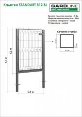 Gate of STANDART 812 BL (3.5/3R)