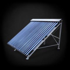 Горячее водоснабжение с помощью солнечных