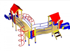 Game complexes for children from 3 to 6 years