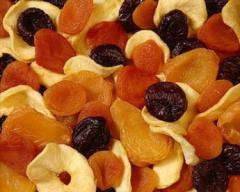Fruit dried