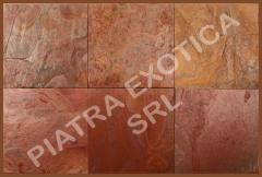 Stone natural facing RAJA RED