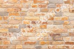 Камень натуральный облицовочный 5см скол цвет: Вишня