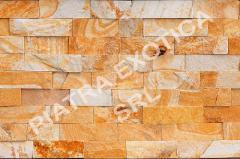 Камень натуральный облицовочный 5см цвет: Персик
