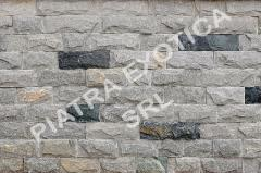 Stone of natural facing 5 cm chip color: Gray