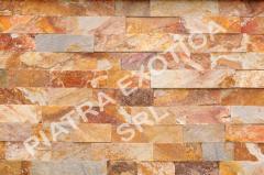 Камень натуральный облицовочный 5см цвет: Вишня