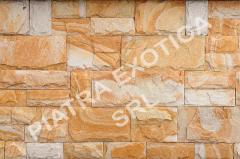 Stone natural facing 5+10sm chip color: Peach
