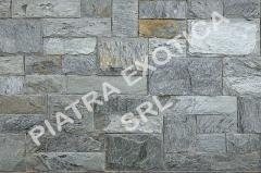 Stone natural facing 5+10sm chip color: Silver