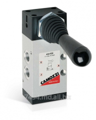 Distributors with a mechanical control of CAMOZZI,