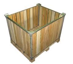 Продажа деревянных контейнеров для овощей