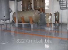 Bulk polyurethane floors in Moldova