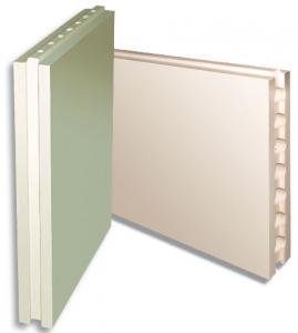 Blocks and plates plaster