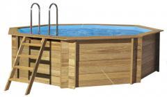 Бассейн деревянный