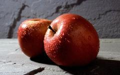 Las manzanas a la exportación