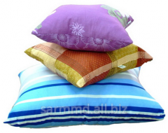 Pillows are silicone, fiber ball filler Vaytbol.