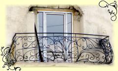 Ограждения для балконов кованые