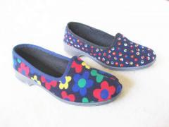 Обувь комнатная, прогулочная