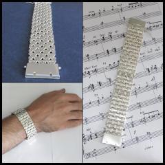 Bracelet of silver 68.20 grams