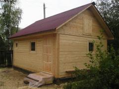 Баня деревянная