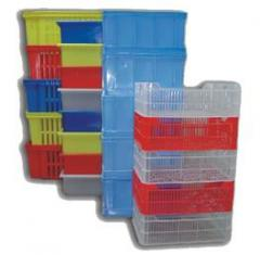 Boxes plastic for vegetables and fruit, food and