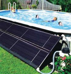 Солнечные системы подогрева бассейнов