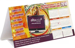 The press of calendars in Moldova in printing