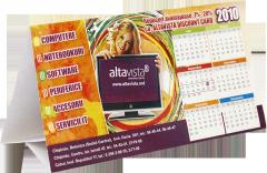 The press of calendars in Moldova in printing