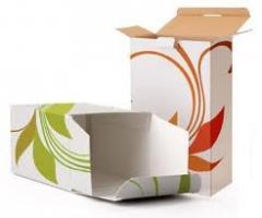 Packaging from paper and the cardboard