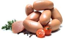 Сардельки обыкновенные из охлажденного мяса