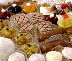 Cakes with a stuffing
