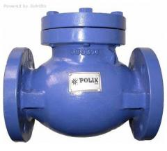 Backpressure valve flange steel-cast iron