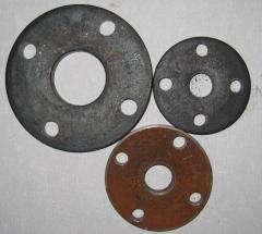 Flange steel