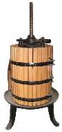 Пресс корзиночный для винограда