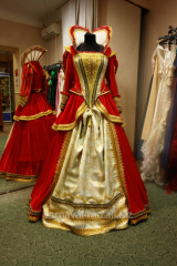 Hire and sale of carnival costumes for adults and
