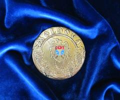 Медали с нанесением герба, флага