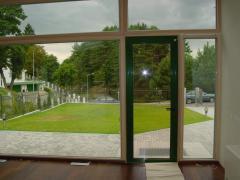 Балконные  двери (на террасу) класса Премиум