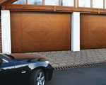 Gate garage section from Cvantid SRL